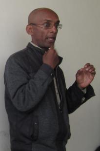 Kaleab Zegeye - IT officer at Menelik Primary School