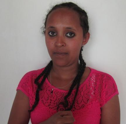 Lydia Belhu - Deaf Teacher Assistant at Menelik Primary School